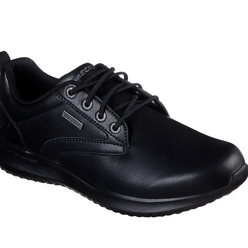 Skechers Waterproof Delson Antigo Black