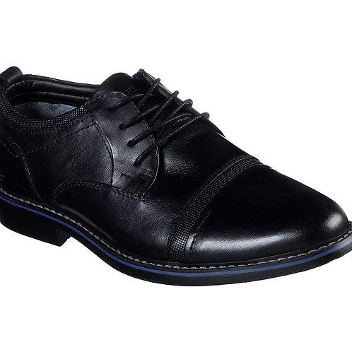 Skechers Bregman Black dress shoe