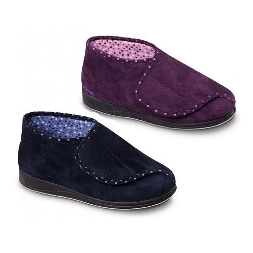 Padders Bootee Slipper Purple