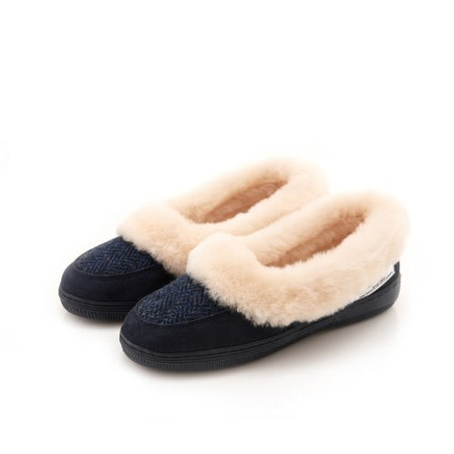 Snowpaw Harris Tweed Sheepskin Slippers