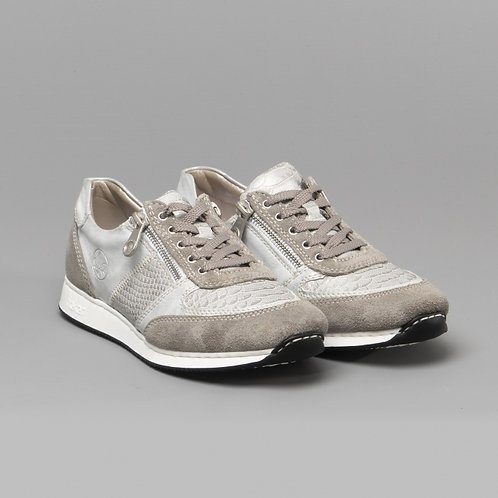 Rieker Ladies Casual Trainers Grey