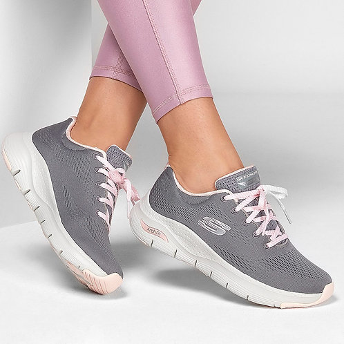 Skechers Arch fit Big Appeal Grey Pink