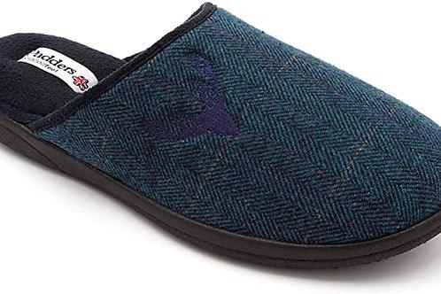 Padders Mens Stag Slip-on slipper Navy