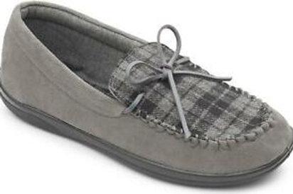 Padders Memory Foam slippers Grey tartan