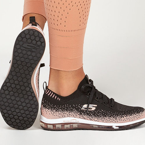 Skechers sweet sunset Rose Gold and Black