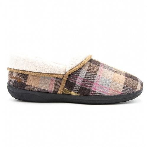 Padders Mellow Wide Fit Slipper