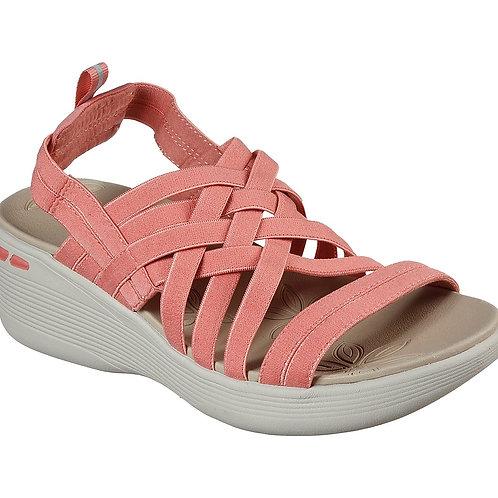 Skechers ladies pink wedge