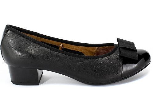Caprice Nappa Court Shoe