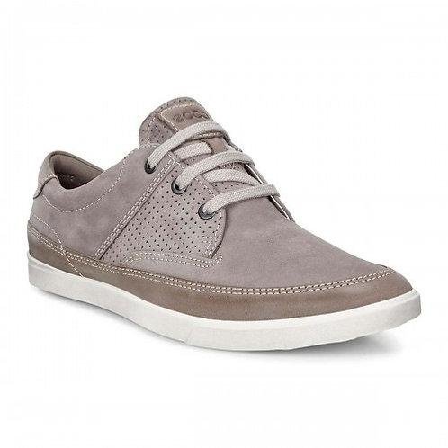 Ecco warm grey casual shoe