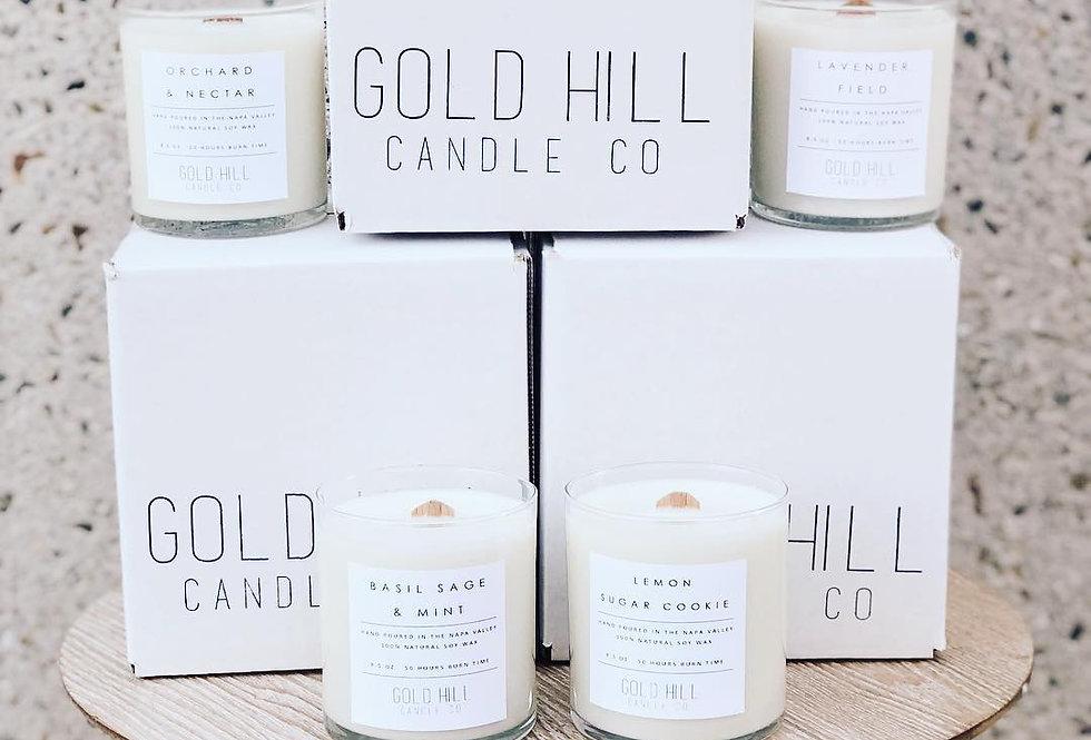 Annual Soy Candle Subscription