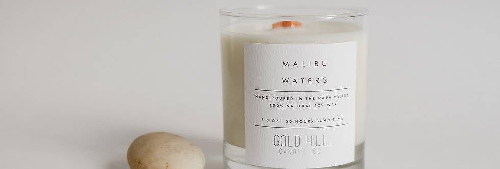 Malibu Waters Soy Candle