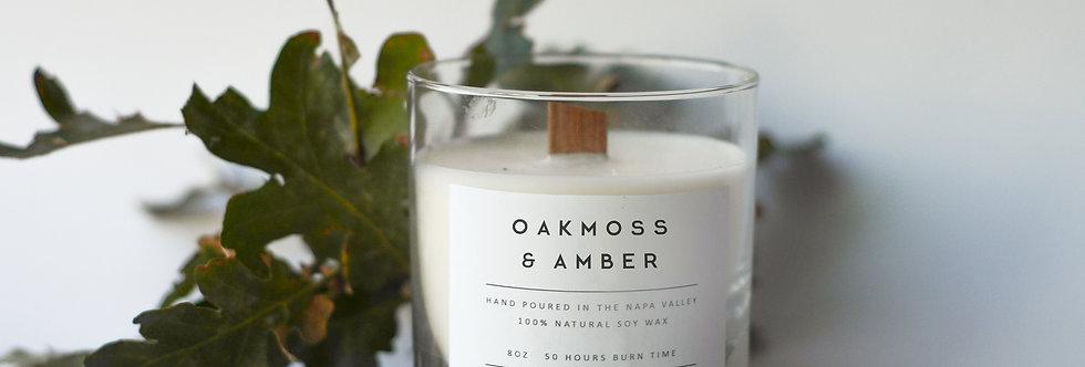 Oakmoss & Amber Soy Candle