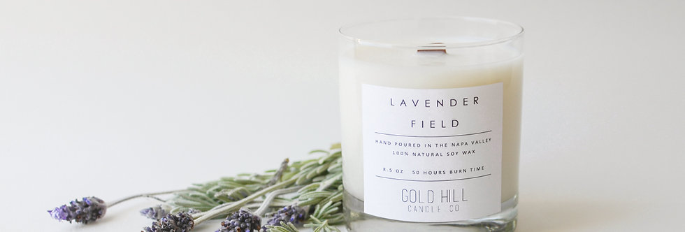 Lavender Field Soy Candle