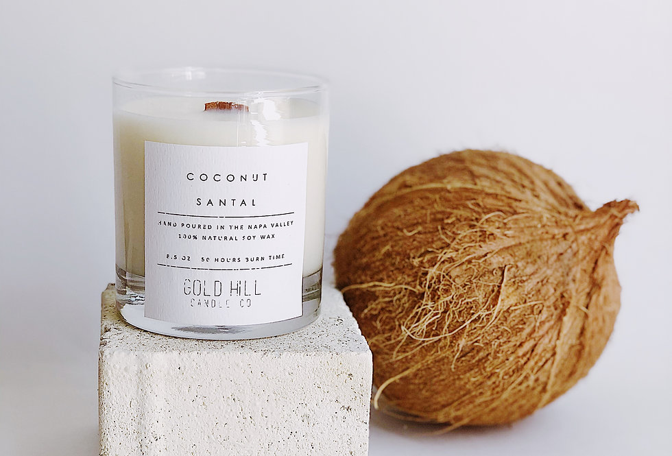 Coconut Santal Soy Candle