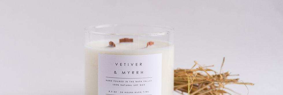 Vetiver & Myrrh Soy Candle