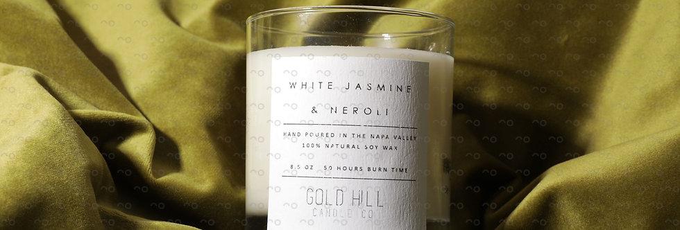 White Jasmine & Neroli Soy Candle