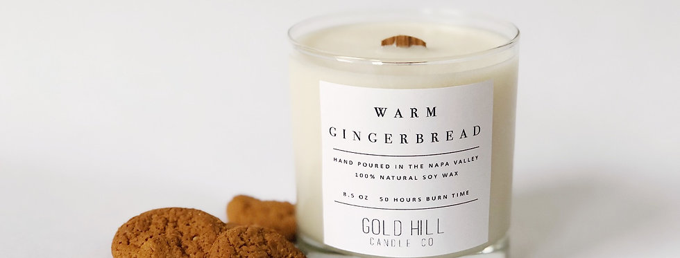 Warm Gingerbread Soy Candle