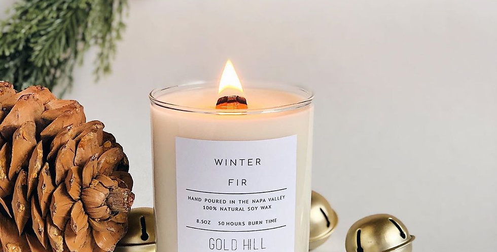 Winter Fir Soy Candle