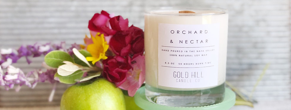 Orchard & Nectar Soy Candle