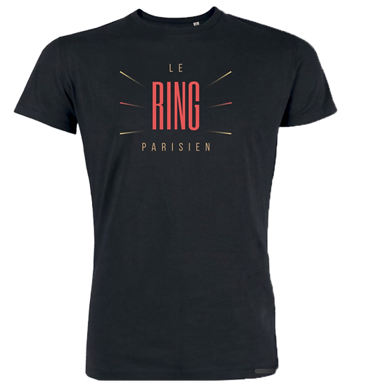 T-shirt Ring Parisien Noir