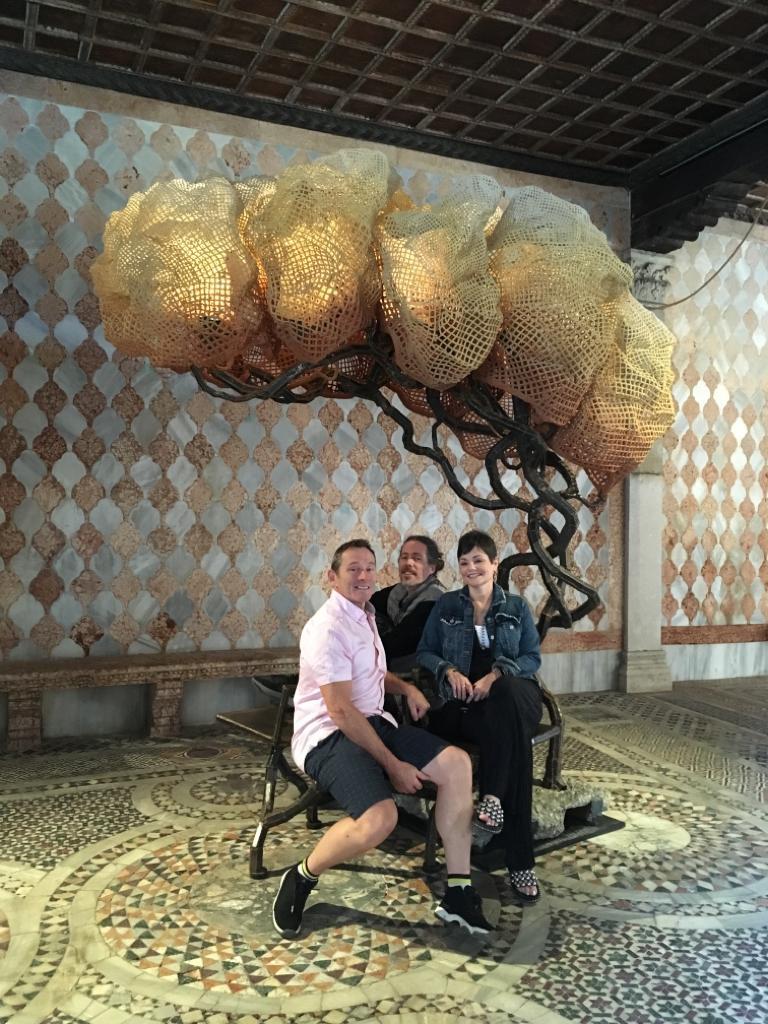 Grant Orsborn, Nacho Carbonell and Traci Orsborn