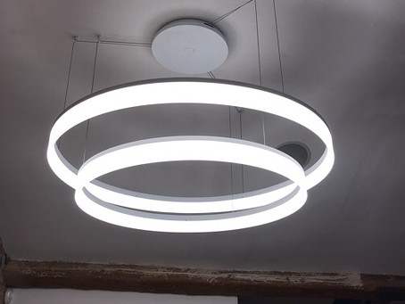 """A new light over my desk """"so easy on the eyes"""""""