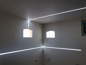 White LED Corner