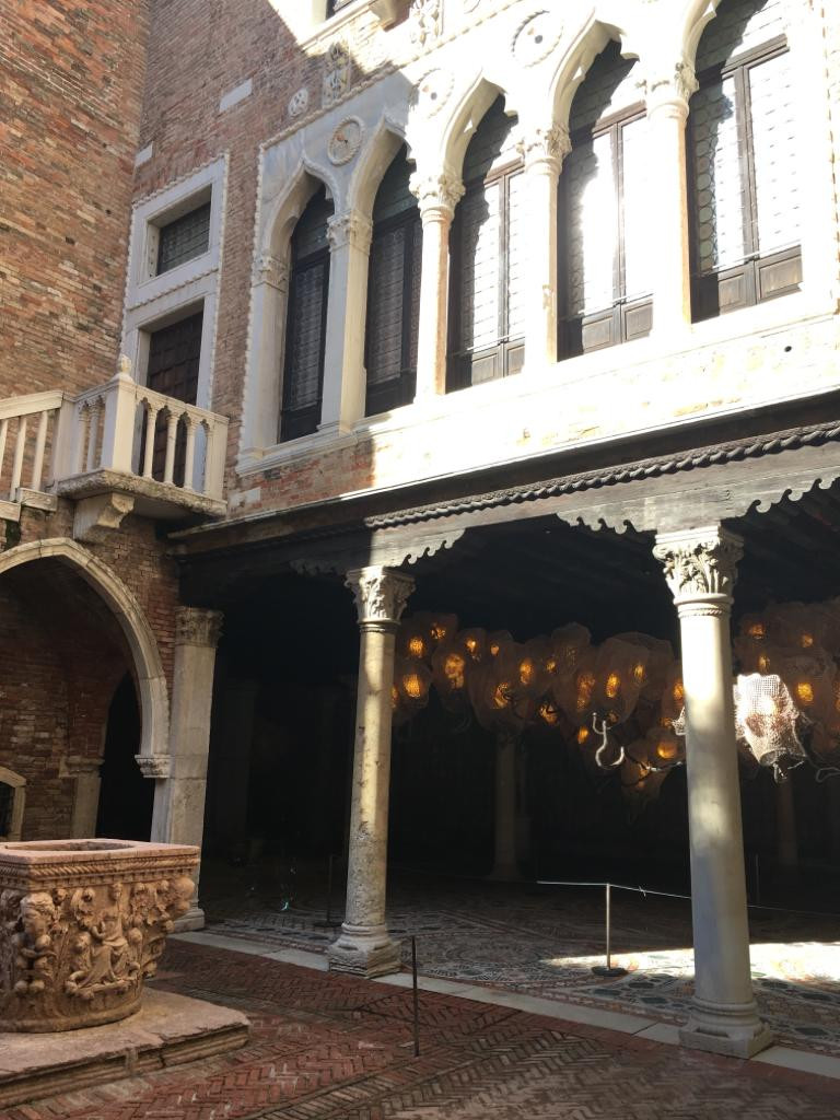 Ca'd'Oro Courtyard