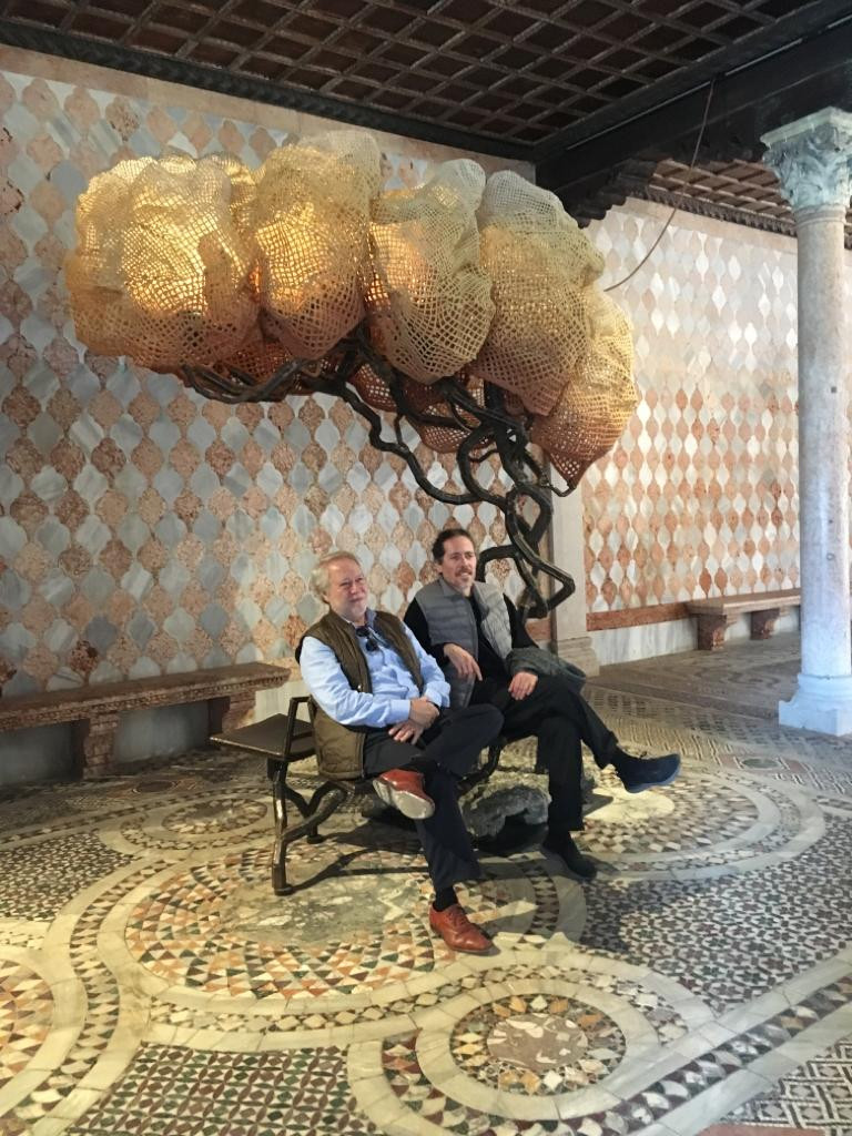 Nacho Carbonell and his Father