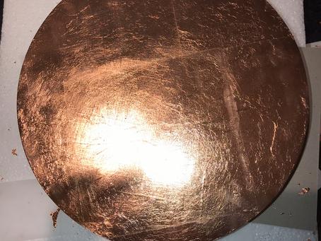 Copper Leaf Wall Lights