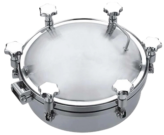 Round Pressure Manhole Cover
