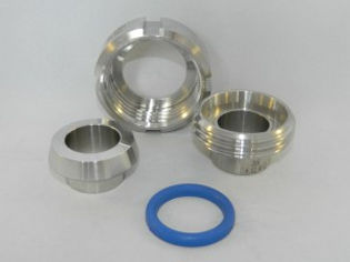 Stainless Steel DIN Union