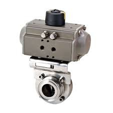 Food grade electric actuator butterfly valve