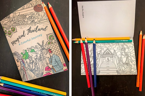 Journal and Coloring Book