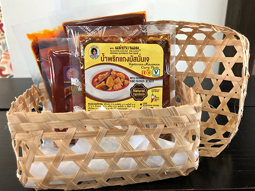 Spicy Thai Dishes (with basket)