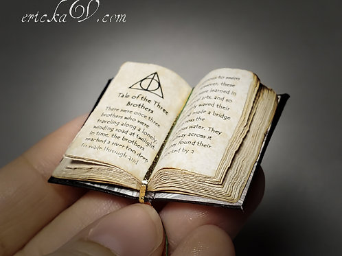 Open Harry Potter inspired Book The Three Brothers