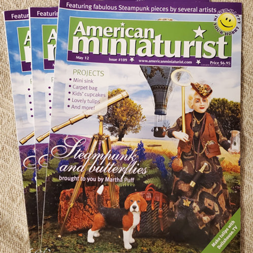 American Miniaturist May 2012 Steampunk