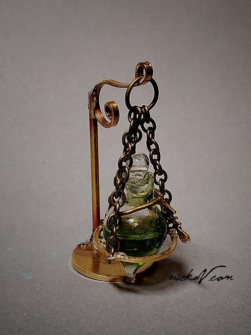 Brass Hanging Amphora Potion bottle C