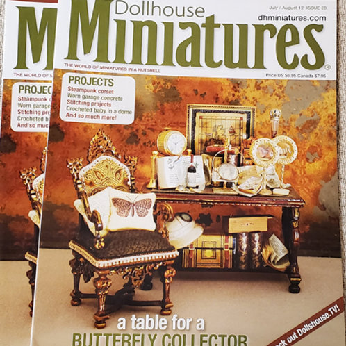 Dollhouse Miniatures July/August issue 28