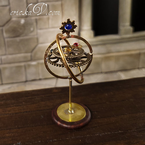 Ornate Armillary with Gears