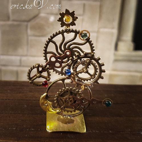 Ornate Steamp Gears Clock