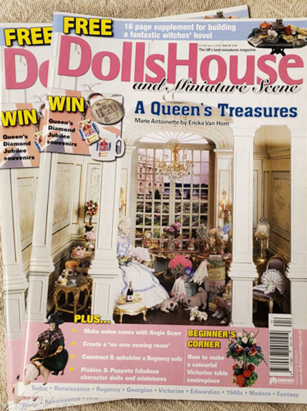 DollsHouse and Miniature Scene Marie Antoinette Cover