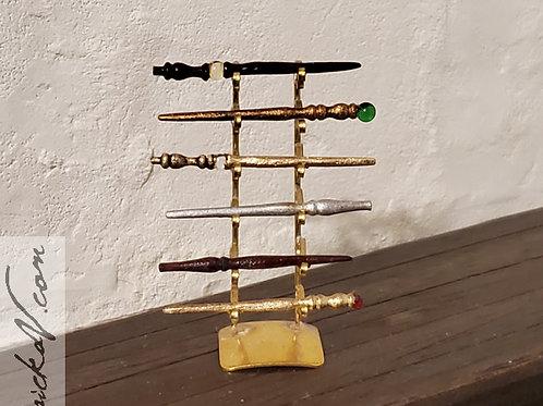 Miniature 6 Wand Stand