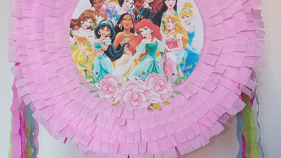 Pinhata Aniversario Princesas