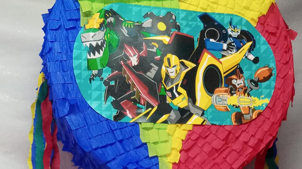 Pinhata Aniversario Transformers