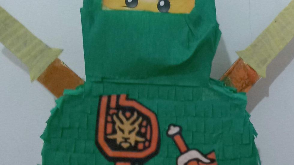 Pinhata Lego Heróis Ninja Go