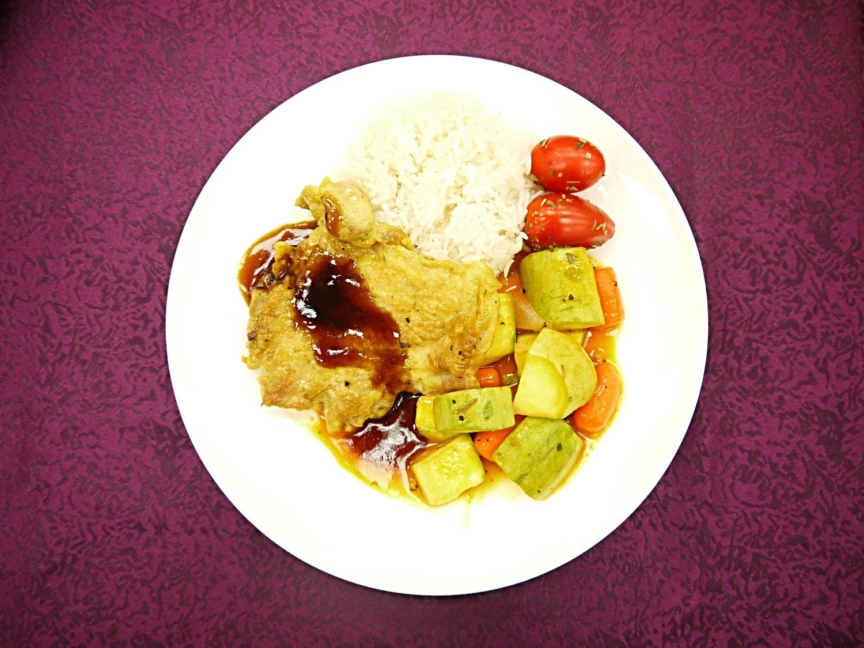 大學高桌晚宴 - 香煎雞扒