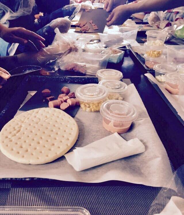 小廚師薄餅製作活動 (地點:SeeYou@Shaw)