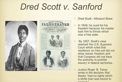 dred scott v. sanford, ransom and sarah williams farmstead