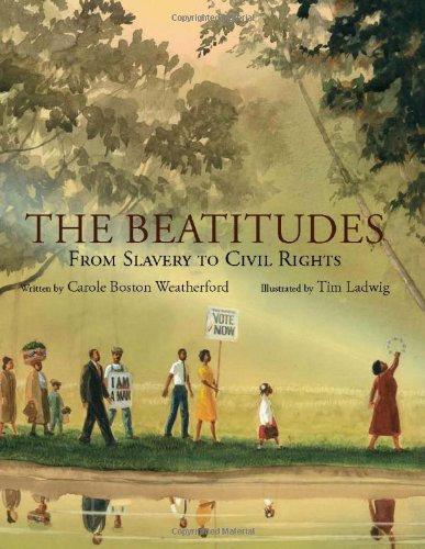 The Beatitudes Carole Boston Weatherford(Author),Tim Ladwig(Illustrator)